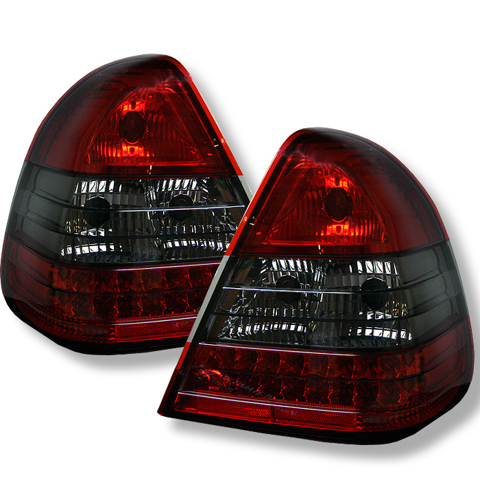 Mercedes Benz W202 C-Class 94-00 LED Tail Lights - Red Smoke