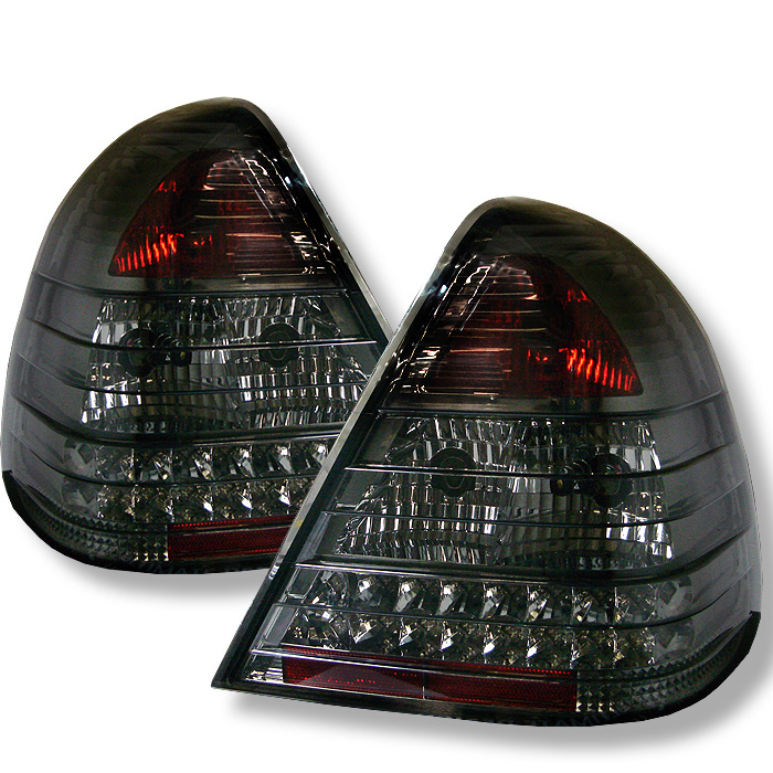 Mercedes Benz W202 C-Class 94-00 LED Tail Lights - Smoke