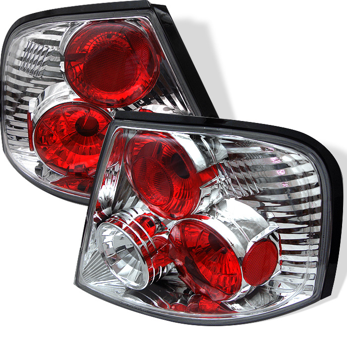 Nissan Altima 98-01 Euro Style Tail Lights - Chrome