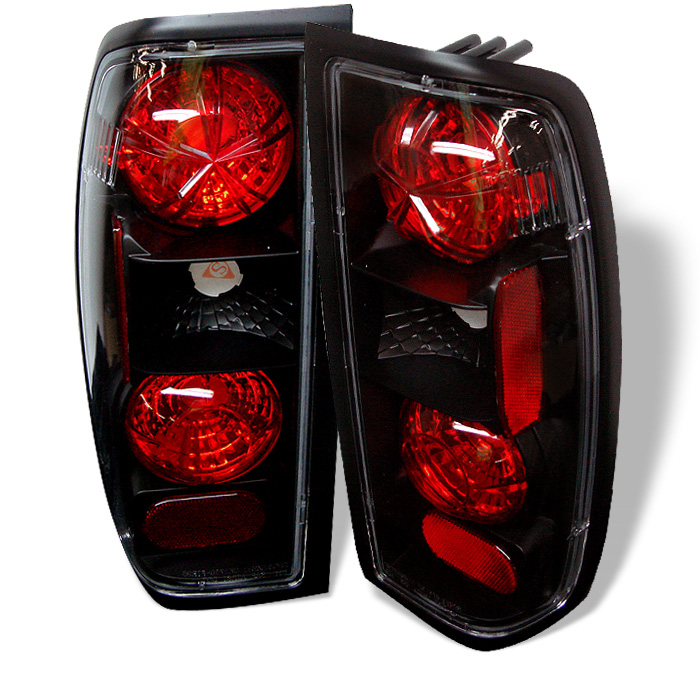 Nissan Frontier 98-00 Euro Style Tail Lights - Black