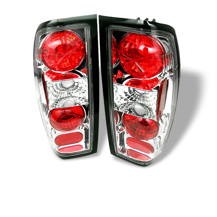 Nissan Frontier 98-00 Euro Style Tail Lights - Chrome
