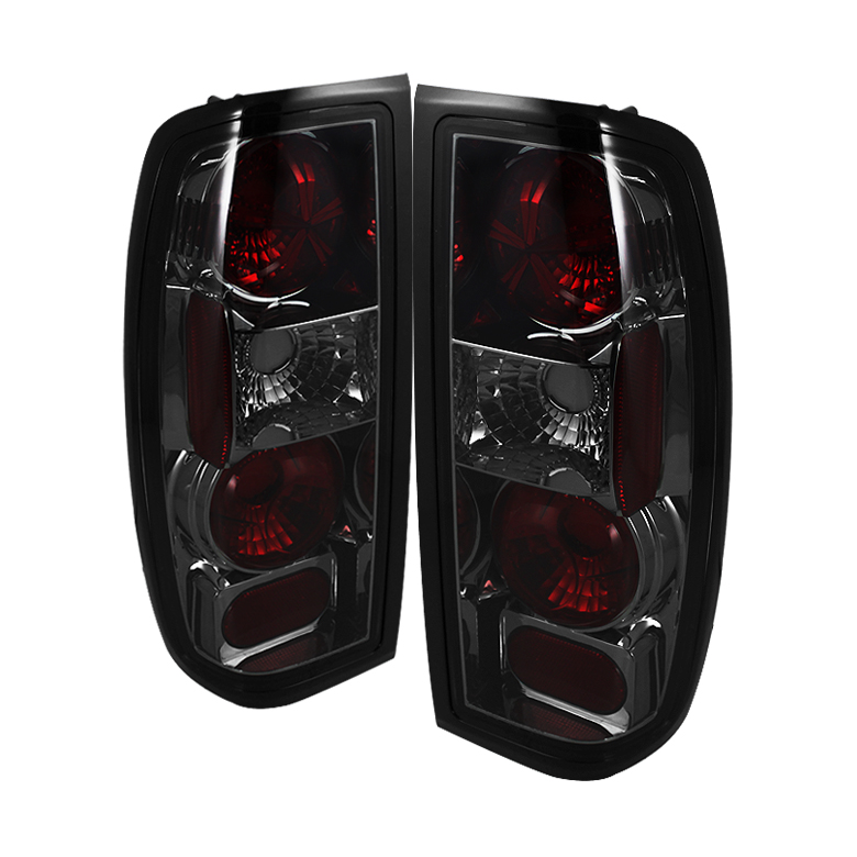 Nissan Frontier 98-00 Euro Style Tail Lights - Smoke