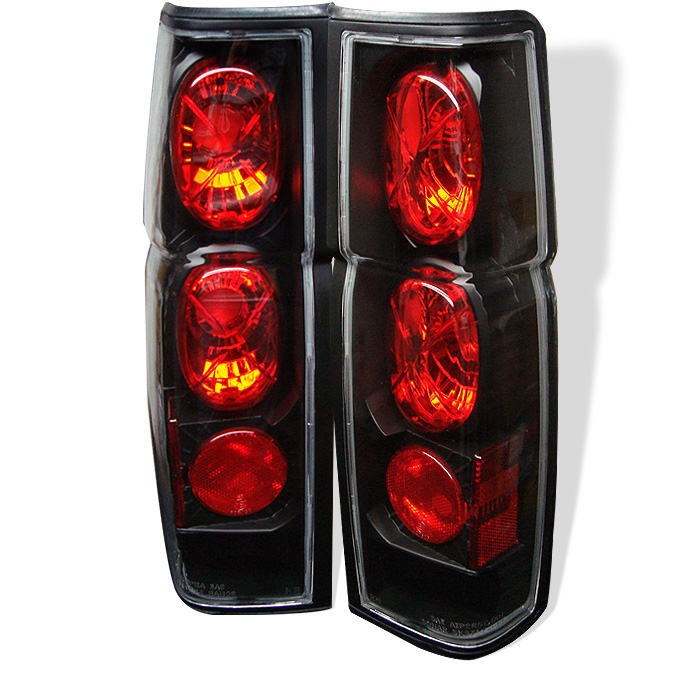 Nissan Hardbody 86-97 Euro Style Tail Lights - Black