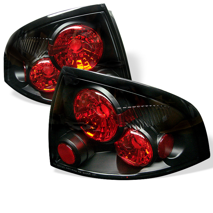 Nissan Sentra 00-03 Euro Style Tail Lights - Black