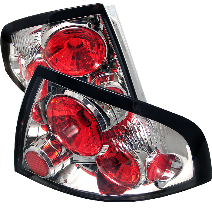Nissan Sentra 00-03 Euro Style Tail Lights - Chrome