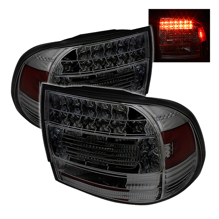 Porsche Cayenne 03-07 LED Tail Lights - Smoke