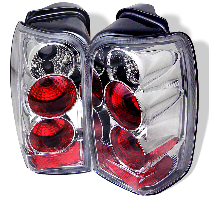 Toyota 4 Runner 96-02 Euro Style Tail Lights - Chrome