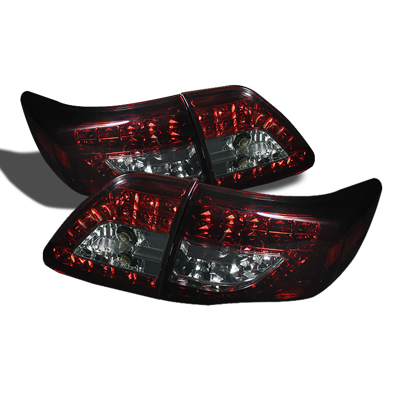 Toyota Corolla 09-10 ( LED Indicator ) LED Tail Lights - Red Smo