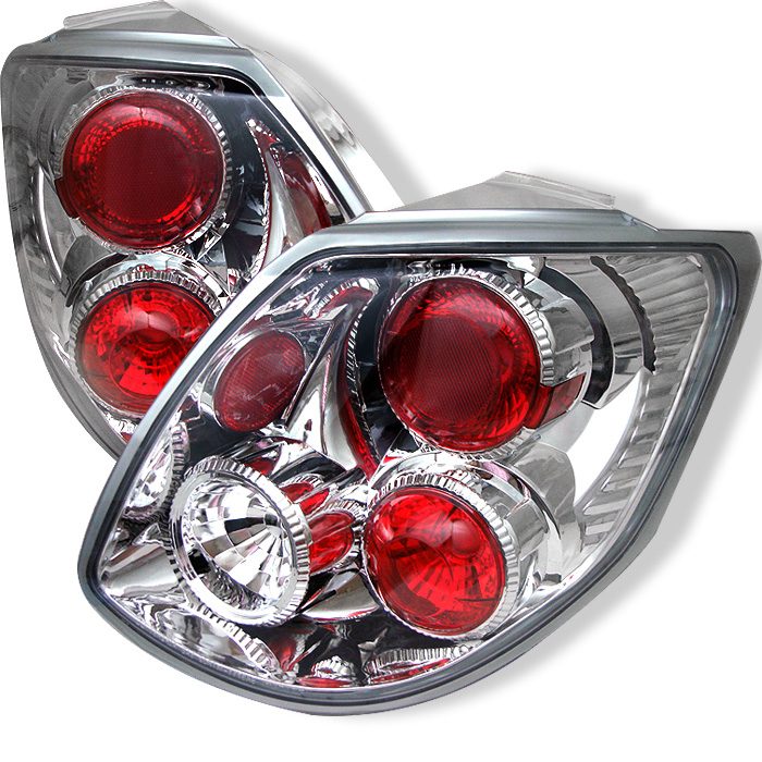 Toyota Matrix 03-05 Euro Style Tail Lights - Chrome