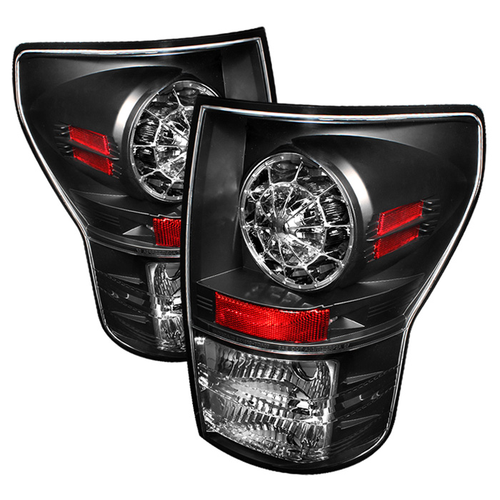 Toyota Tundra 07-12 LED Tail lights - Black