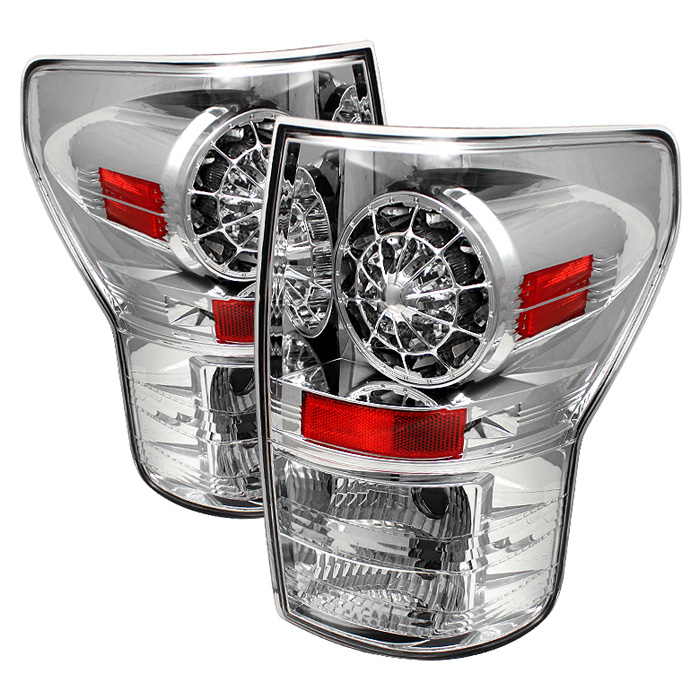 Toyota Tundra 07-12 LED Tail lights - Chrome