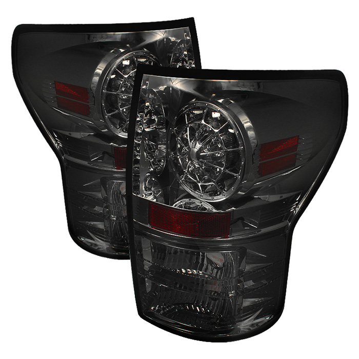 Toyota Tundra 07-12 LED Tail lights - Smoke
