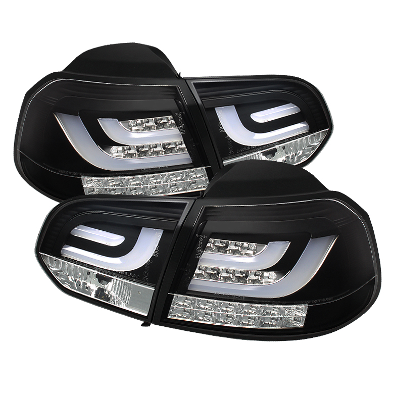Volkswagen Golf / GTI 10-12 G2 Type With Light Bar LED Tail Ligh
