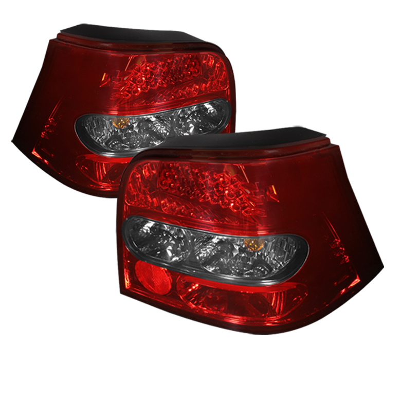 Volkswagen Golf 99-04 LED Tail Lights - Red Smoke