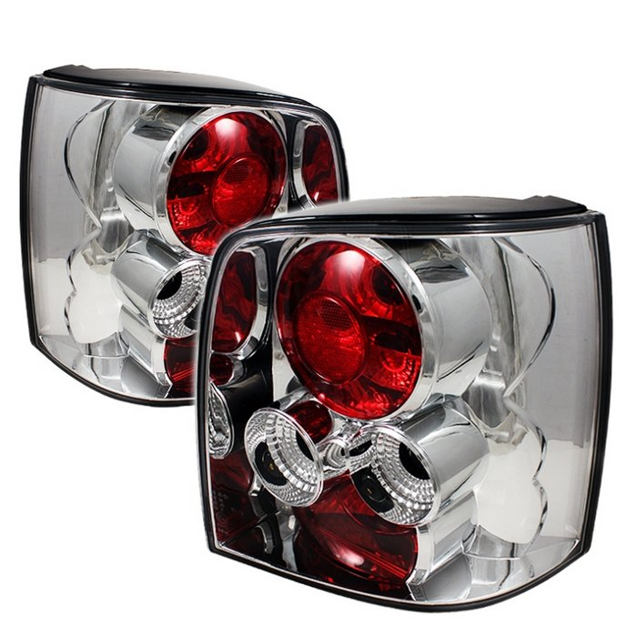 Volkswagen Passat 97-00 5DR Euro Style Tail Lights - Chrome
