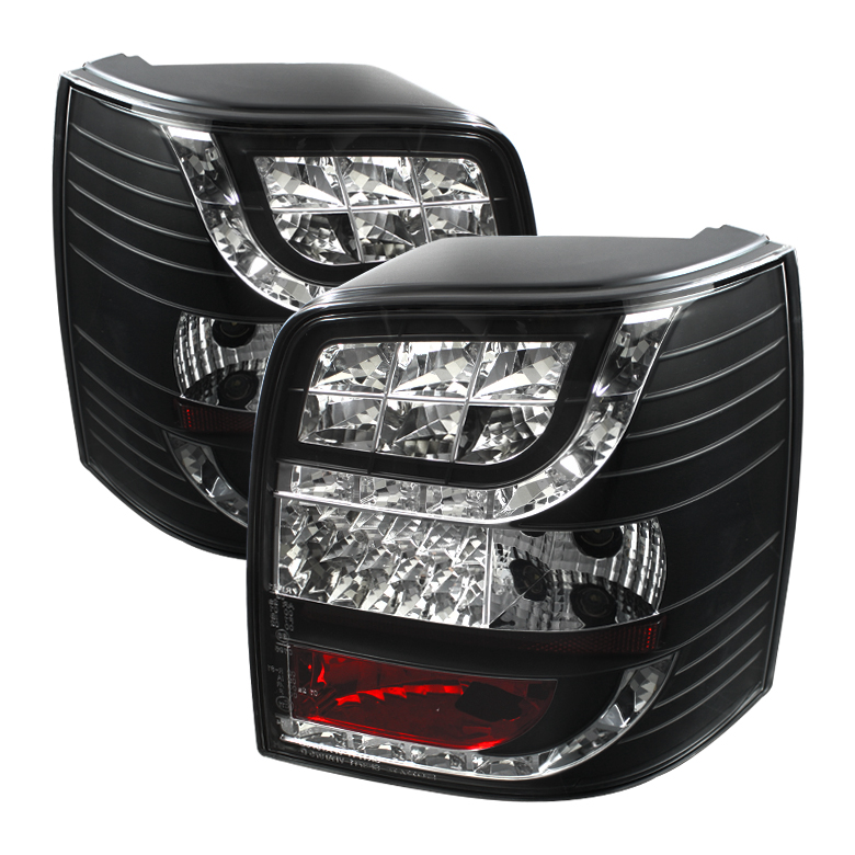 Volkswagen Passat 97-00 5Dr Light Bar Style LED Tail Lights - Bl