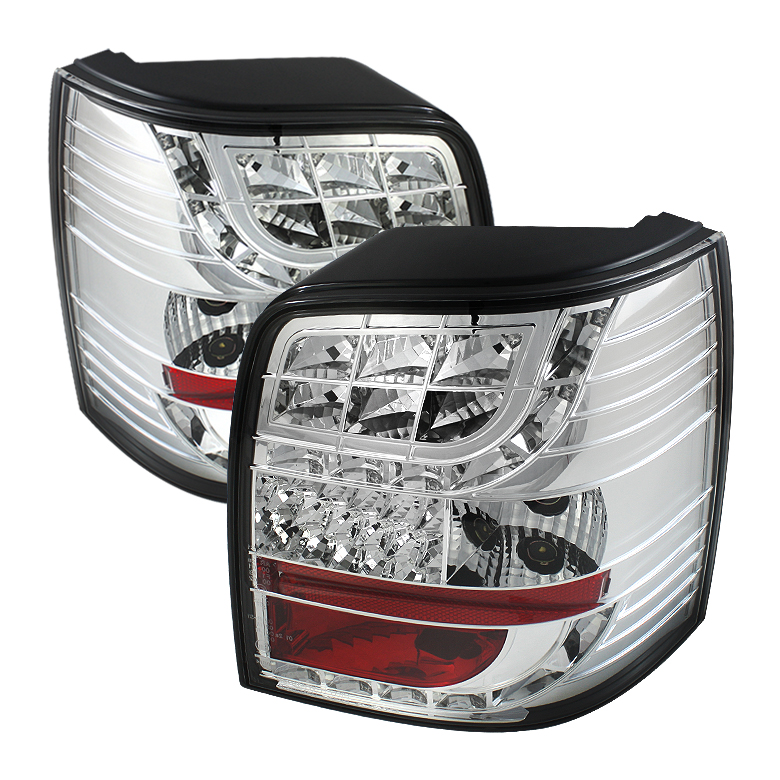 Volkswagen Passat 97-00 5Dr Light Bar Style LED Tail Lights - Ch